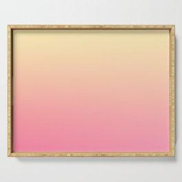 WALLFLOWER - Minimal Plain Soft Mood Color Blend Prints Serving Tray
