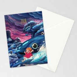 Ponyo Stationery Cards