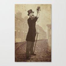 Vintage Selfie Canvas Print