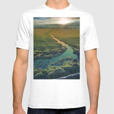 country feedback MEDIUM Mens Fitted Tee White