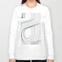 helvetica Long Sleeve T-shirts featuring Helvetica Condensed 002 by INDUR