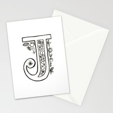 j is for Stationery Cards