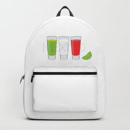 Mexico Tequila Shots Backpack