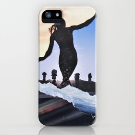 Surf's Up silloute iPhone Case