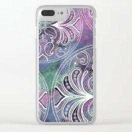 Mandala lace Clear iPhone Case