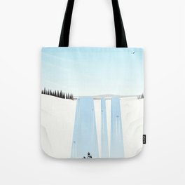 Fly away on a fair wind to anywhere Tote Bag
