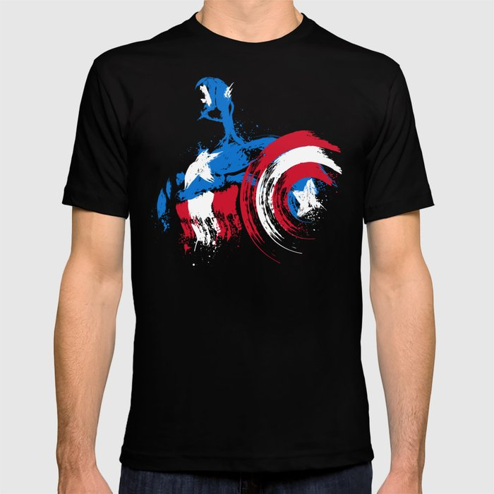 The captain is coming T-shirt