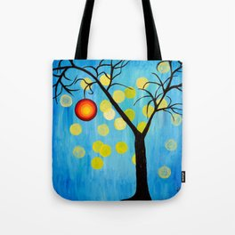 Modern Tree Tote Bag