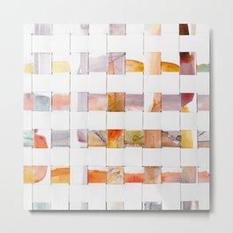 Color Weave 1l by Kathy Morton Stanion Metal Print