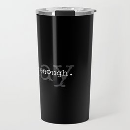 Two Brothers' Light Stay Logo Travel Mug