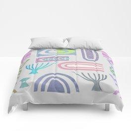 Pale bits Comforters