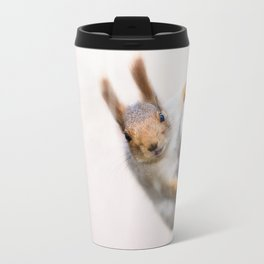 Squirrel - Who are you? Travel Mug