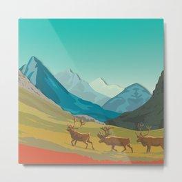 Night Mountains No. 57 Metal Print