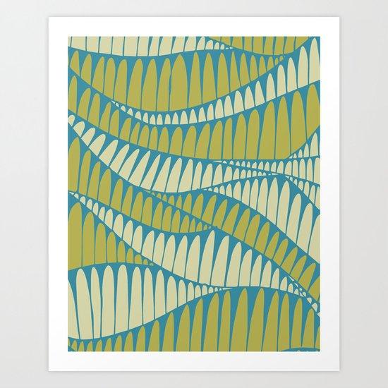 Sahara Desert in pastel colours 2 Art Print