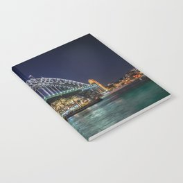Sydney Harbor Bridge at Night Notebook