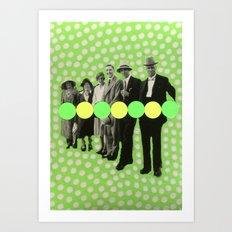 At My Signal Art Print
