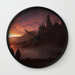 Hogwarts Wall Clock