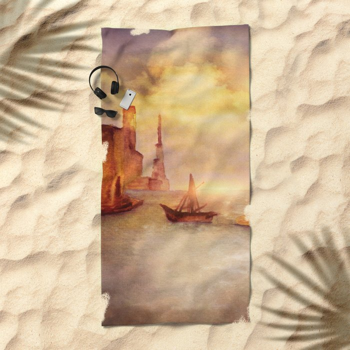 Sun City Beach Towel