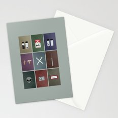 X-Files colors Stationery Cards