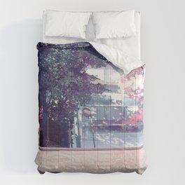 Beautiful Cartoon Traffic Road Scenery Ultra High Definition Comforters