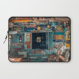 Signs in a Beach House (Color) Laptop Sleeve