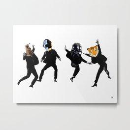 Be Funky Metal Print