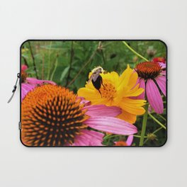 A Work Day For The Bee Laptop Sleeve