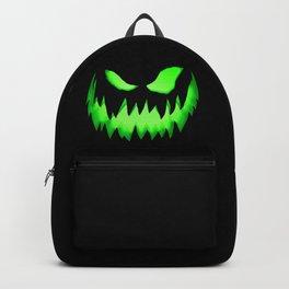 Evil Green ghost Backpack