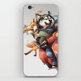 Husky & Fox : Vespa iPhone Skin