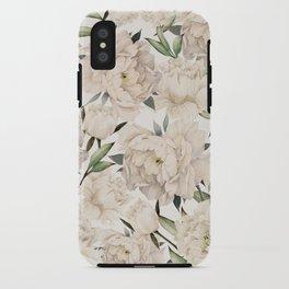 Peonies Pattern iPhone Case