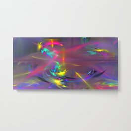 Abstract lighteffects -11- Metal Print