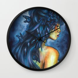 Inside my head Wall Clock