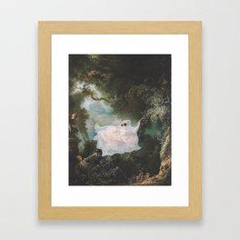 """""""The Ghost Swing"""" / Jean-Honore Fragonard Framed Art Print"""
