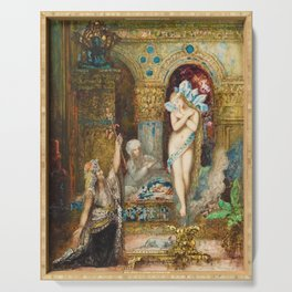 The Fable by Gustave Moreau Serving Tray