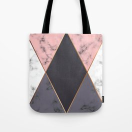 Marble Geometry 018 Tote Bag