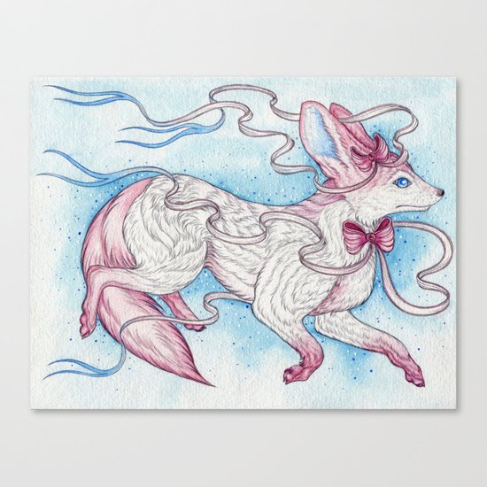 Sylveon Canvas Print