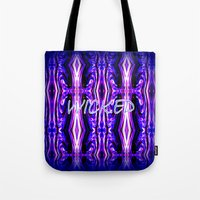 wicked Tote Bags featuring Wicked by Chris' Landscape Images & Designs