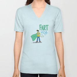 Fart Boy! Unisex V-Neck