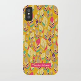 Dancing Feathers  iPhone Case