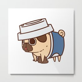 Puglie Coffee Metal Print