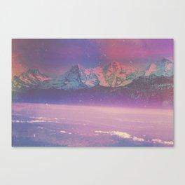 PEACEFUL ROADS Canvas Print