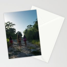 Walk to the Village Stationery Cards
