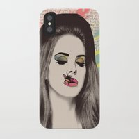 lana del rey iPhone & iPod Cases featuring LANA #2 by Vita♥G