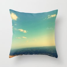 Summer Sky Throw Pillow