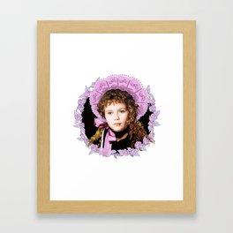 Vampire Child Claudia Framed Art Print