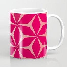 Flowers and geometry in pink Coffee Mug