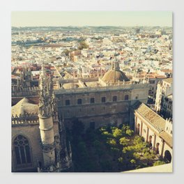 Seville - Skyline & Rooftops Canvas Print