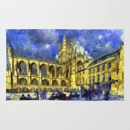 Bath Abbey Van Gogh Rug