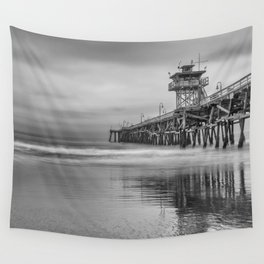 San Clemente Grey Wall Tapestry