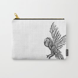 Owl Branches Carry-All Pouch